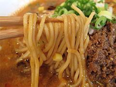 料理:赤坦々麺の麺@晴商店(はれしょうてん)・福岡市南区那の川