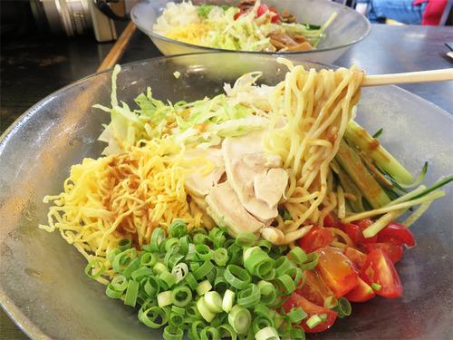 【福岡】冷やし中華と中華冷麺の違い♪@博多長浜ラーメン 風び 原本店
