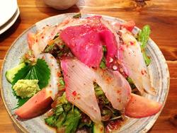 3オリジナル海鮮サラダ@つねちゃん