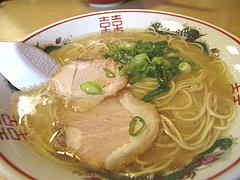 6ランチ:ラーメン単品390円@白龍食堂・那珂川