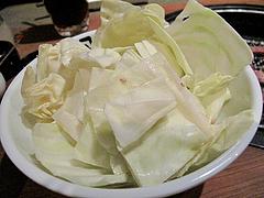 料理:やみつき塩キャベツ290円@牛角・東比恵店