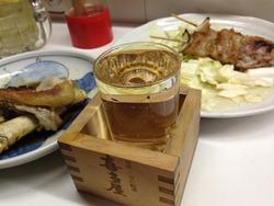 10日本酒常温@焼鳥・九十九