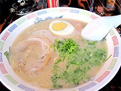 料理:ラーメン450円@浜太郎・長浜屋台村
