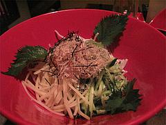 料理:大根ときゅうりパリパリじゃが芋のサラダ@ウォーターダイニング蔵音・博多駅東