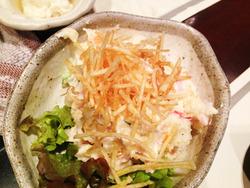 5昔ながらのポテトサラダ@六ヶ城(ろっかんじょう)