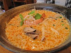 料理:トムヤムヌードル(センレック麺)720円@タイ料理オシャ・大橋