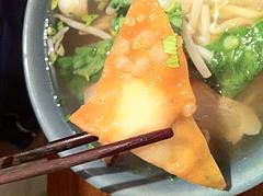 ランチ:バーミーナーム揚げワンタン@大橋・タイ料理・オシャ