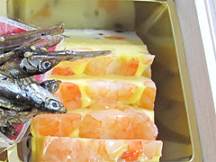 料理:海老づくし@2011セントラルホテル福岡お節(おせち)・一の重
