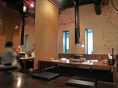 4店内:掘り炬燵テーブル席@柳橋もつ元・柳橋連合市場