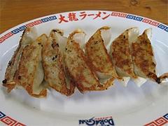 料理:餃子7個350円@久留米大龍ラーメン・空港東店