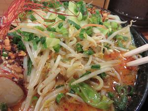 16辛シビ味噌味玉入り野菜@味噌マニアックス