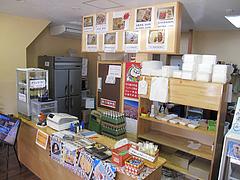 店内:注文カウンター@七福弁当・春日