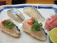 料理:鰆とままかり寿司@日本料理・花柚(はなゆう)・倉敷