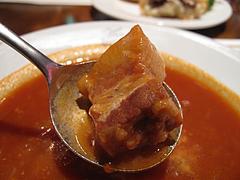 12ランチ:ボルシチ・豚?@ロシア料理レストラン・ツンドラ・天神