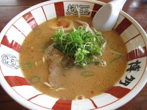 10ピリ辛ラーメン604円@博多麺王