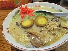 料理:煮卵ラーメン550円@ラーメン・らあめん坊主
