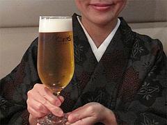 料理:ザ・プレミアムモルツ生580円@HAKATA・ONO(ハカタオノ)・天神IMS