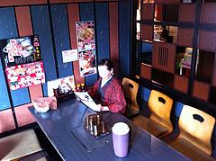 7店内:掘り炬燵式テーブル@大衆居食家しょうき・長住店