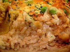 料理:栗・サツマイモドリアのご飯@フォワイエ ドュ ばん・天神