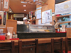 店内:寿司カウンター@四方平・北九州小倉