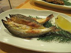 11料理:鮎の開きの炙り@居酒屋なごみ・八女の鮎と燻製料理の店・美野島