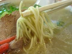 料理:ラーメン麺@長浜ラーメン一龍亭・博多区千代