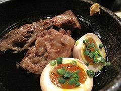料理:豚バラ軟骨の角煮・煮玉子付き@白金玄歩・居酒屋・薬院