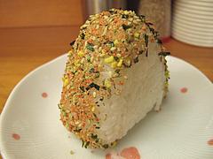 料理:おにぎり@ラーメンやまもと春日本店
