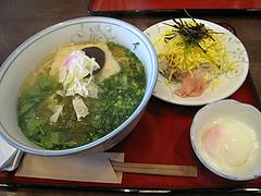 料理:ごりょんさん600円とちらし200円@博多煮うどん・虹の家(ななのや)