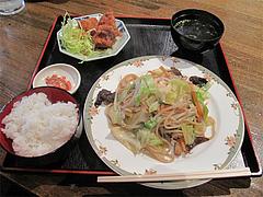 10ランチ:広東風やきそばAセット600円@大連屋台料理Lee(李・リー)