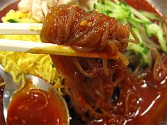 料理:ビビン冷麺アップ@石焼ビビンバ&@石焼ビビンバ&冷麺ビビン亭・ゆめタウン久留米
