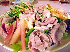 料理:豚しゃぶサラダ@ひなまつり・女子会