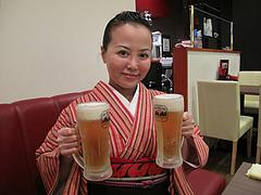 3料理:生ビール@牡蠣やまと・鉄板居酒屋・赤坂・料理:生ビール@牡蠣やまと・鉄板居酒屋・赤坂・オイスターバー