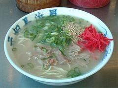 ガンソのナシナマ(油なし麺超かた)@ラーメン元祖長浜屋