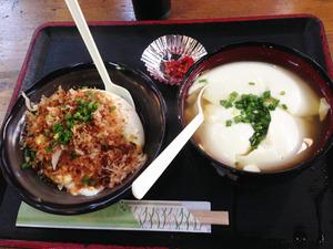 9ザル豆腐小とだし豆腐@マッちゃん