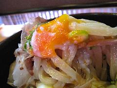 ランチ:温玉カツオぶっかけうどん麺@うどん研究所・麺喰道・七隈