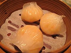 料理(笋尖蝦餃皇):海老蒸し餃子@CHINA(チャイナ)・グランドハイアット福岡・キャナルシティ博多