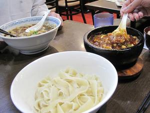 7頂点石焼麻婆刀削麺@味覚