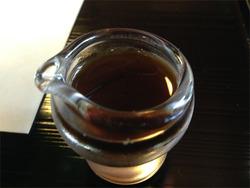 14わらび餅の黒蜜@茶寮・宝泉