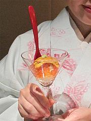 11夜:ウニとイクラのカクテル寿司アップ@たつみ寿司・総本店・博多