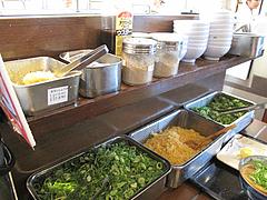店内:薬味コーナー@丸亀製麺・那珂川・福岡