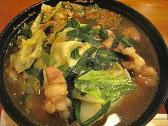 13ランチ:もつ鍋ラーメン@居酒屋・井戸端・博多川端商店街