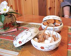 料理:野の花膳・+200円コーヒーセット@おちゃの舎 野の花・福岡県小郡市