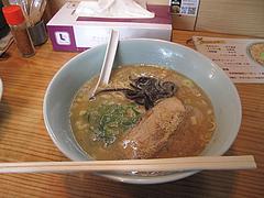 14ランチ:豚骨ラーメン580円@博多担々麺まるみや・渡辺通り店・春吉