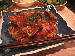 料理:あさりトマトソース@ハカタネーゼ・エノテカ・リツ・清川