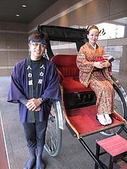 福岡・博多観光2@人力車の博多人力屋