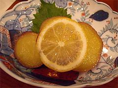 さつま芋のレモン煮@福岡・西中洲・博多なゝ草
