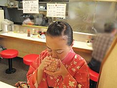 5店内:カウンター席@定食の味作食堂