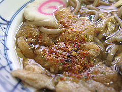 料理:そばの七味@はるやうどん・小倉
