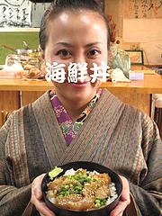 料理:海鮮丼@魚魚・居酒屋